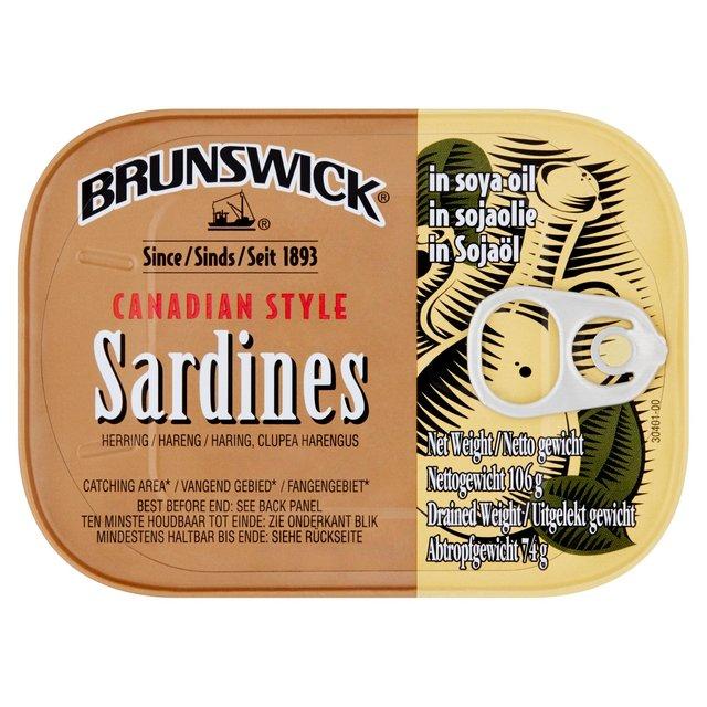 Brunswick Sardines in Oil