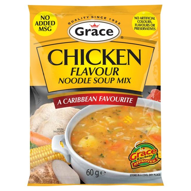 Morrisons Grace Chicken Noodle Soup Mix 60g Product Information