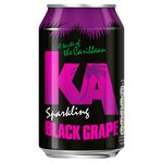 KA Sparkling Black Grape Drink