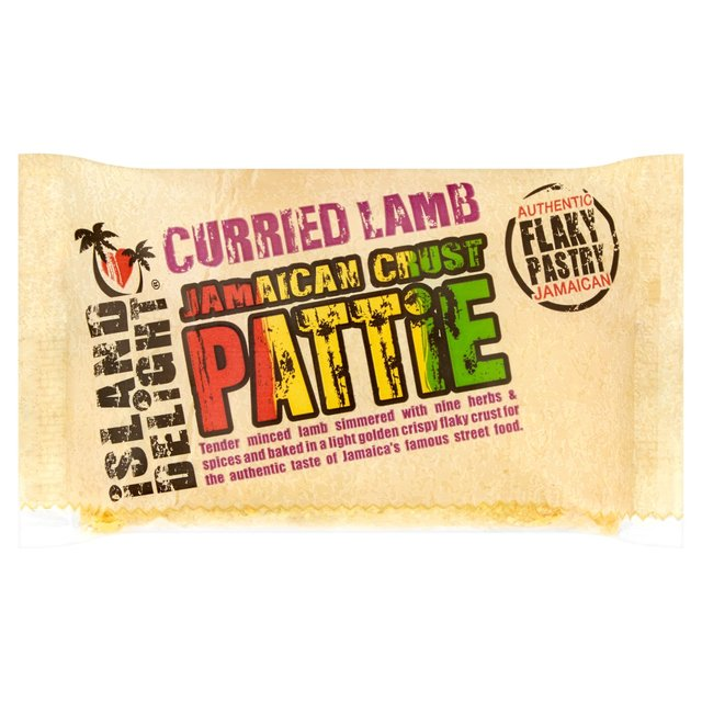 Island Delight Curried Lamb Pattie