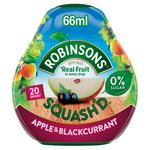Robinsons Squash'd Apple & Blackcurrant On-The-Go Squash
