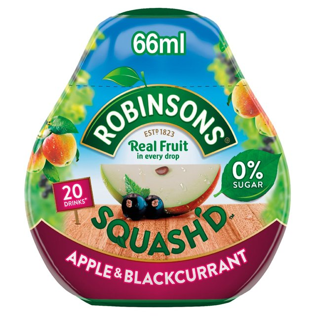 Robinsons Apple and Blackcurrant Juice Squash'd