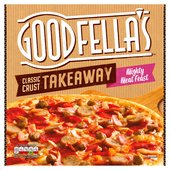Goodfellas Takeaway Mighty Meat Feast Pizza & Sweet Chilli Dip