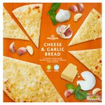 Morrisons Italian Cheese&Garlic Pizza Bread