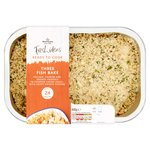 Morrisons Three Fish Bake