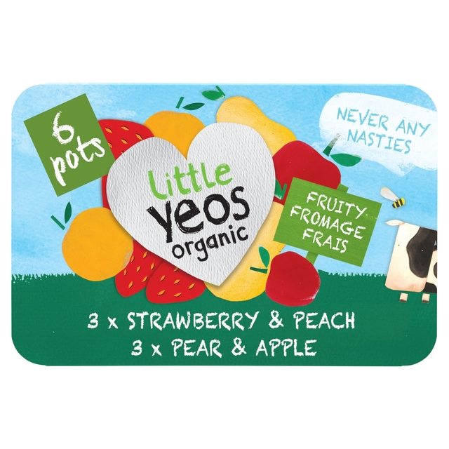 Little Yeos Strawberry & Peach/Pear & Apple Fromage Frais