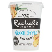 Rachel's Greek Style Ginger Yogurt