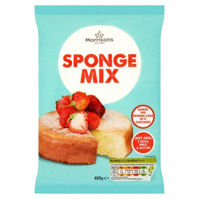 Morrisons Plain Cake Mix Recipes