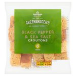 Morrisons Black Pepper Croutons