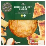 Morrisons Cheese & Onion Quiche