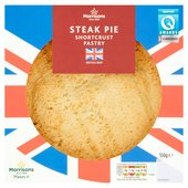 Morrisons: Morrisons Short Crust Steak Pie 550g(Product ...