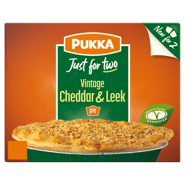 Pukka Veggie, Cheddar & Leek Pie