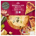 Morrisons Bacon & Leek Quiche