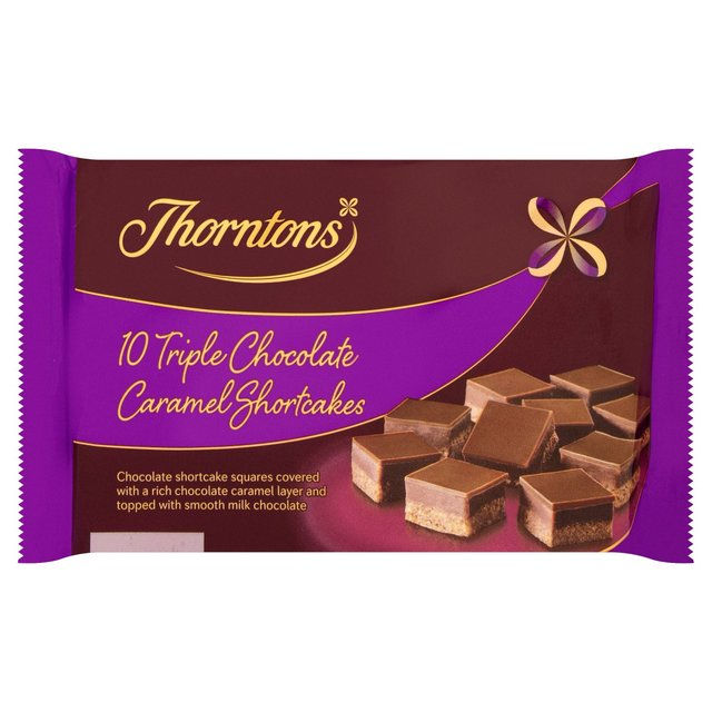 Morrisons thorntons triple chocolate bites 10 per pack product