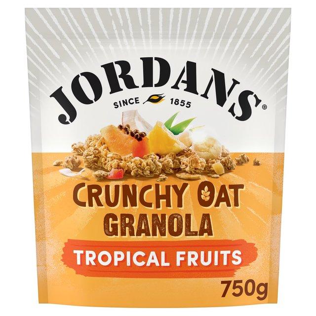 ... : Jordans Crunchy Oat Granola Tropical 750g(Product Information