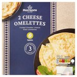 Morrisons 2 Cheese Omelettes