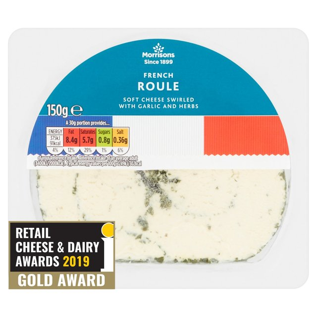morrisons morrisons french roule 150g product information
