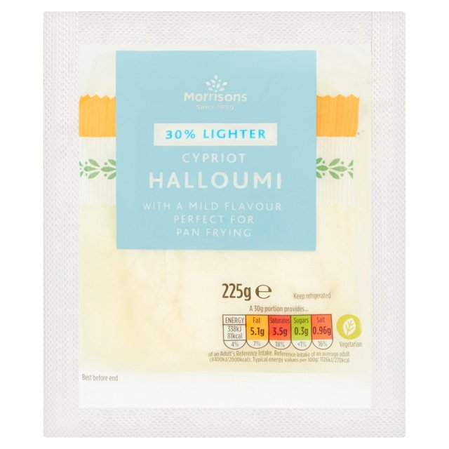 Morrisons Reduced Fat Cypriot Halloumi