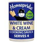 Homepride White Wine & Cream Cooking Sauce