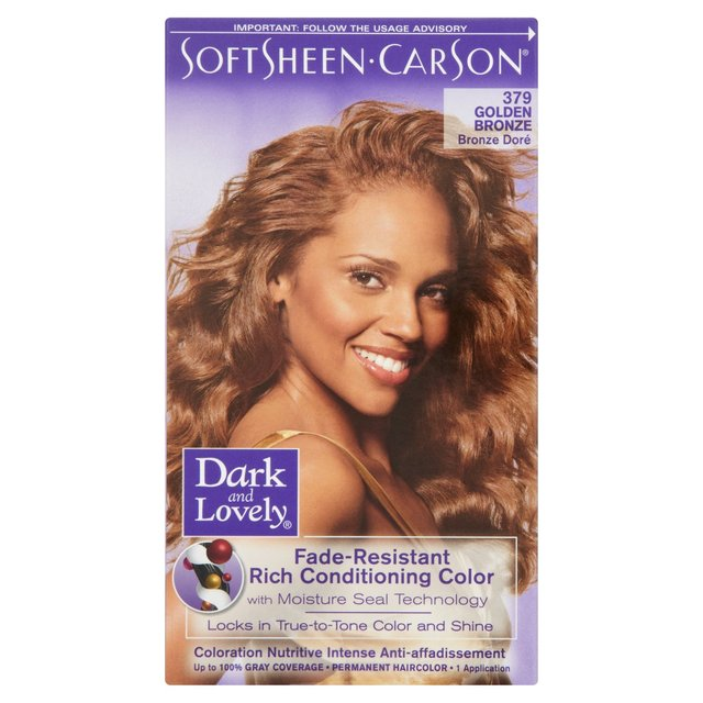 Dark And Lovely Golden Bronze Hair Color Www Pixshark