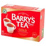 Barrys Tea Gold Blend Tea Bags 80 Pack