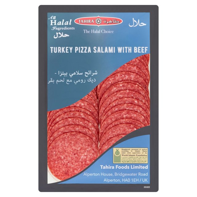 Tahira Turkey Salami Pizza Topping