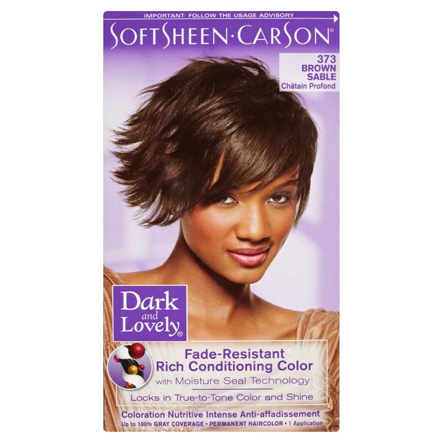 Sable Hair Color Dark & lovely hair colour