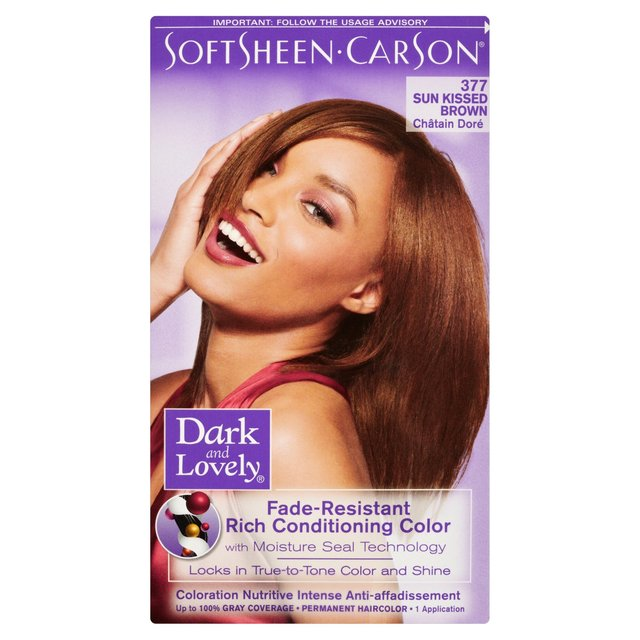 Morrisons: Dark & Lovely Hair Colour Sun Kissed Brown ...