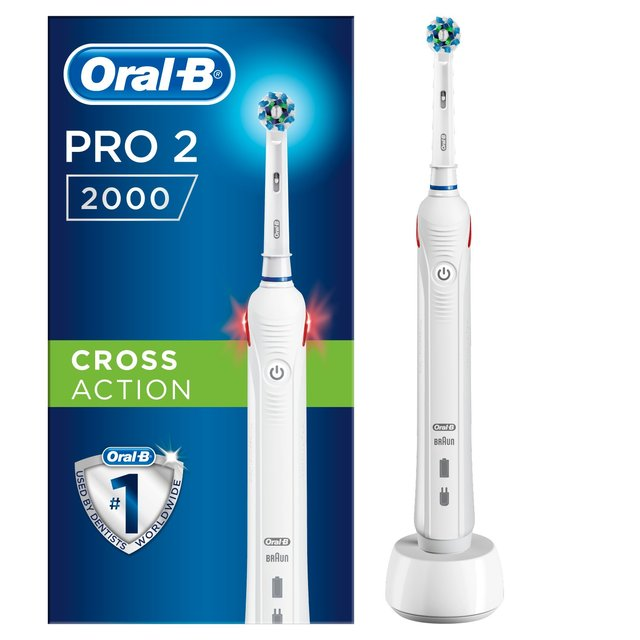 morrisons oral b pro 2000 rechargeable electric toothbrush wow special edition product. Black Bedroom Furniture Sets. Home Design Ideas