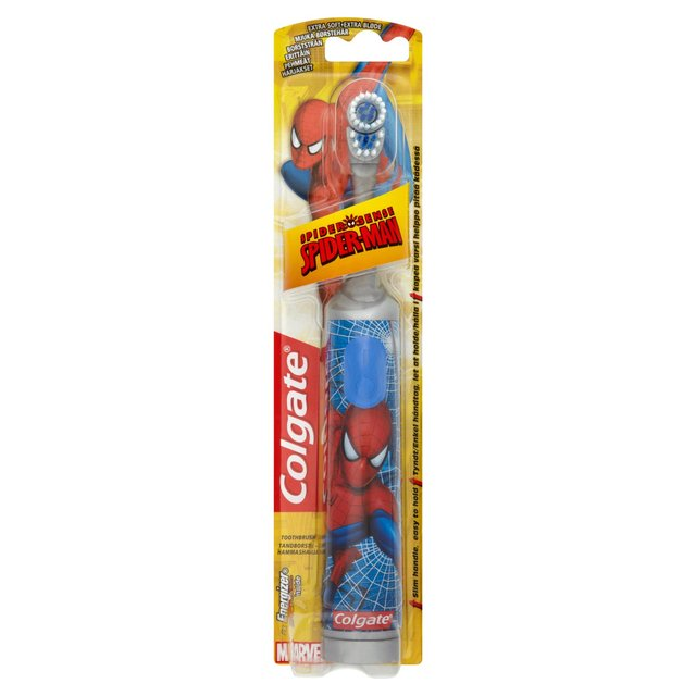 Colgate Spiderman  Battery Brush