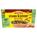 Old El Paso Stand 'N' Stuff Smoky BBQ Soft Taco Kit