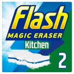Flash Magic Eraser Kitchen Cleans like Magic 2 Count