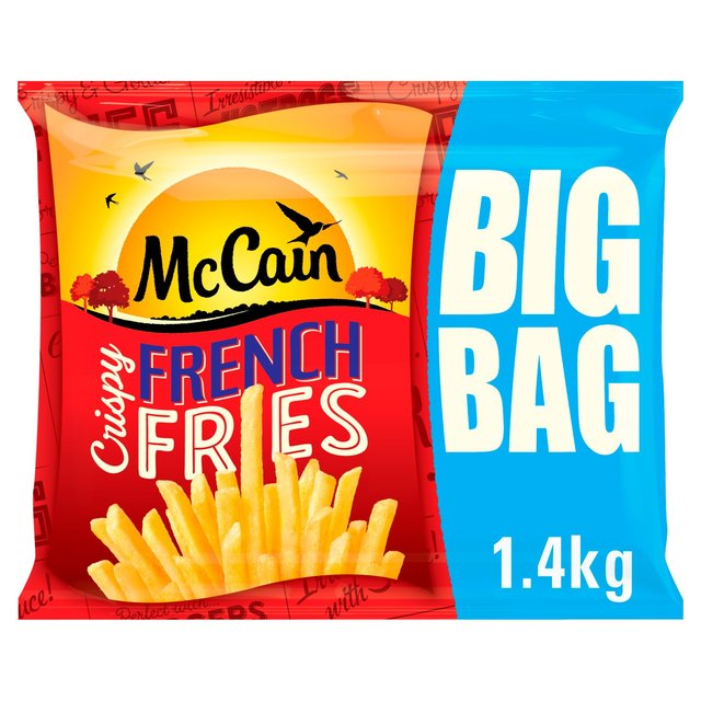 Morrisons: McCain Crispy French Fries 1 4kg(Product Information)