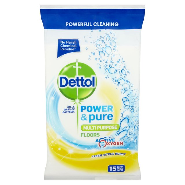 Dettol Power & Pure Floor Wipes