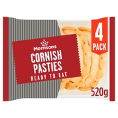 Morrisons Cornish Pasties