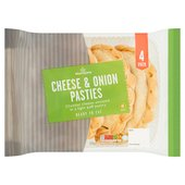 Morrisons Cheese & Onion Pasties