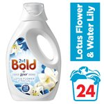 Bold 2in1 Lotus Flower & Lily Washing Liquid 24 washes