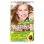 Garnier Nutrisse Dark Golden Blonde Gold Praline 7.3