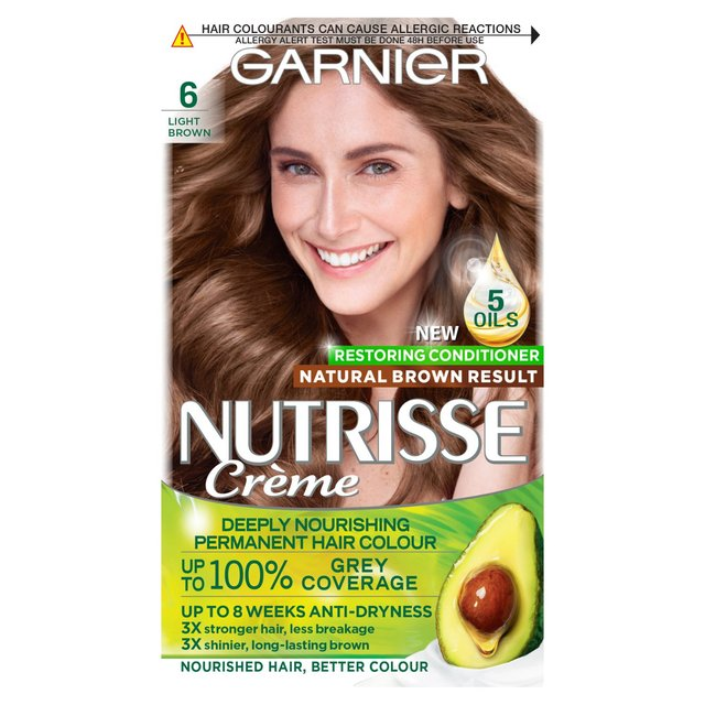 Morrisons: Garnier Nutrisse Light Brown Sandalwood 6 ...