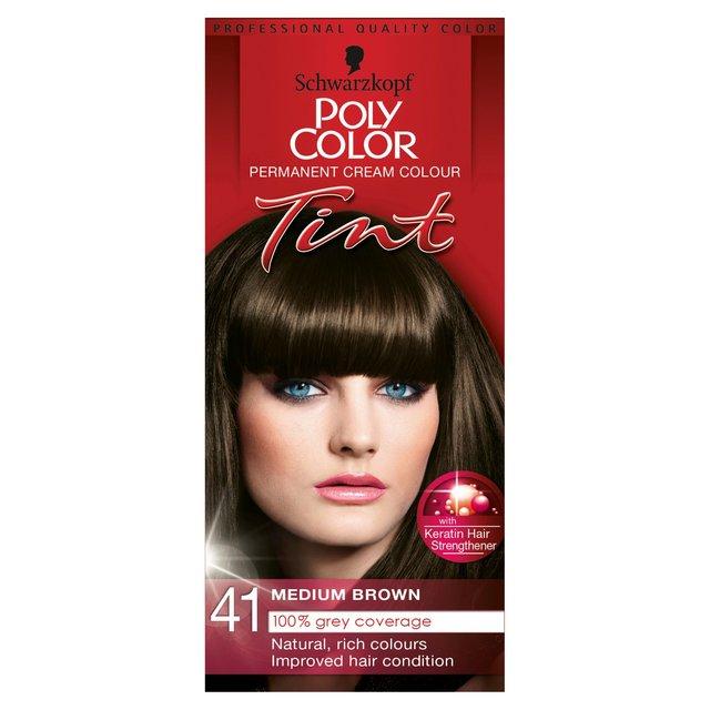 Schwarzkopf Poly Color Natural Medium Brown 41