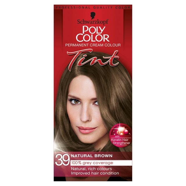 Morrisons Schwarzkopf Poly Color Natural Light Brown 39 Product Information