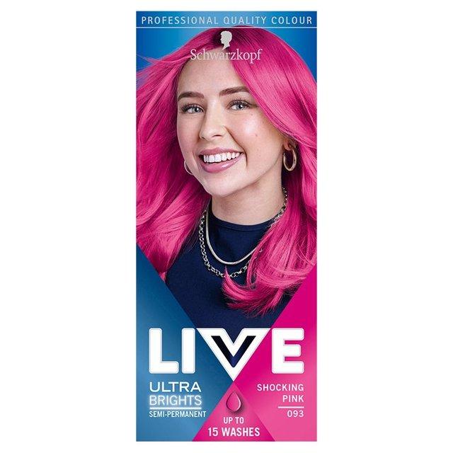 234ae488f9 Morrisons: Schwarzkopf LIVE Intense Colour 093 Shocking Pink Hair ...
