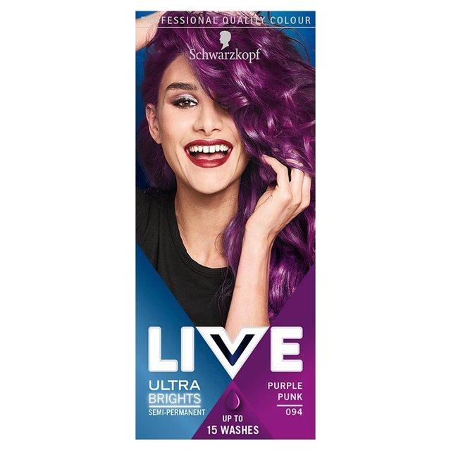 Live Intense Colour 046 Cyber Purple Hair Dye