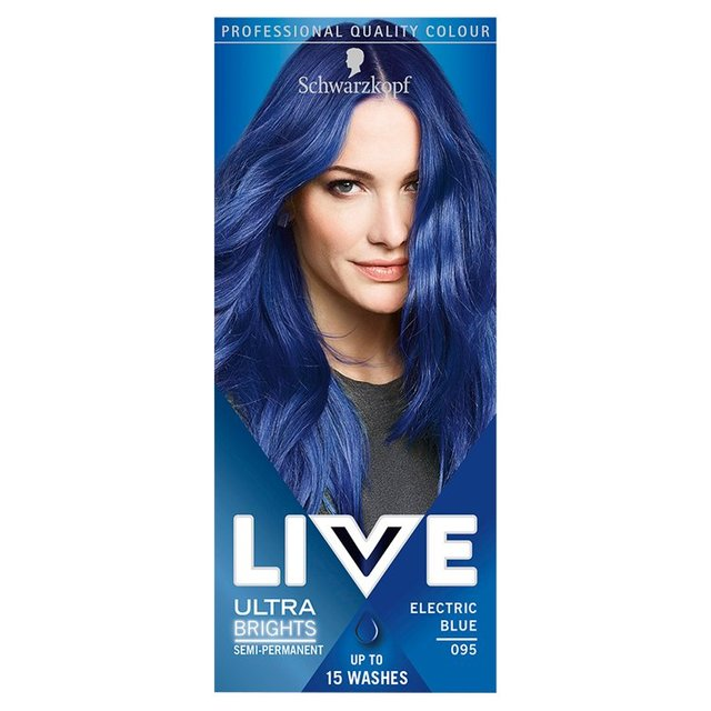 Morrisons Schwarzkopf Live Color XXL Ultra Brights Electric Blue 95 Product