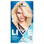Schwarzkopf LIVE Intense Lightener 00B Max Blonde Hair Dye
