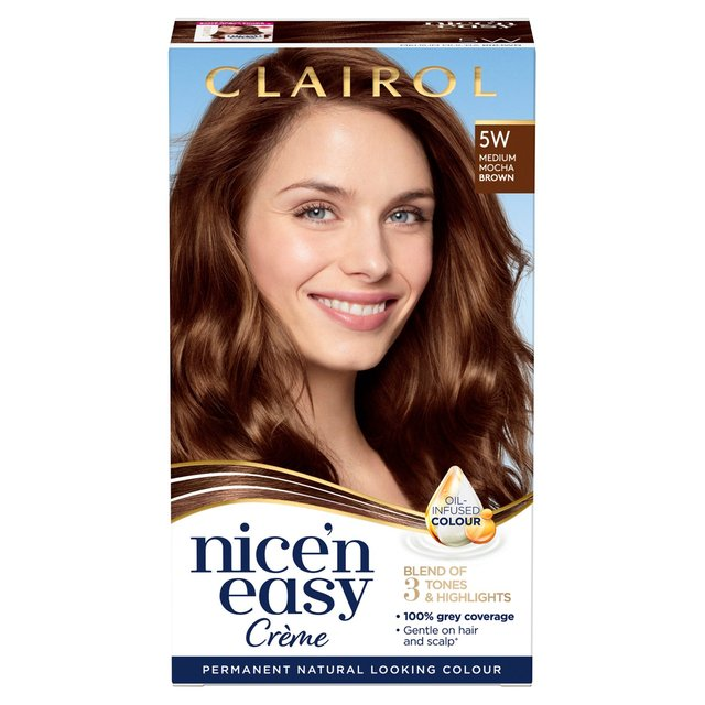 morrisons nice n easy permanent hair colour 5w natural