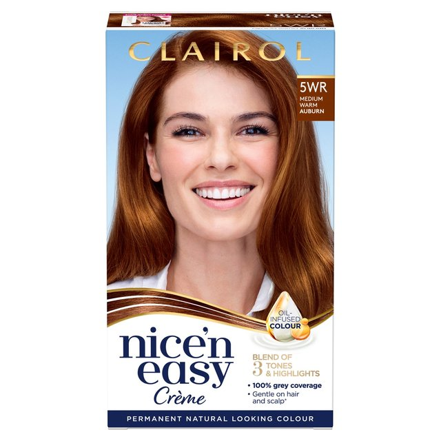 Nice 'N Easy Permanent Colour 5WR Natural Warm Auburn (109A) Hair Dye