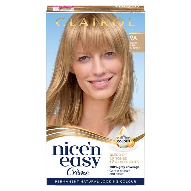 Morrisons Nice N Easy Permanent Colour 102 Natural Light Ash