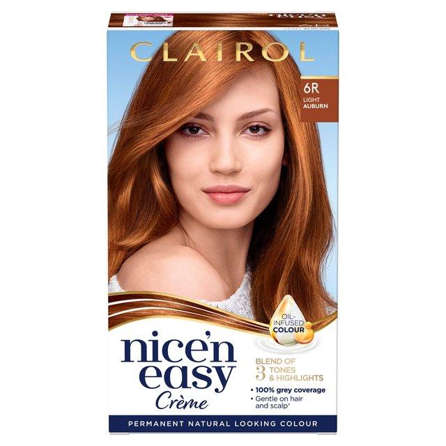 Nice 'N Easy Permanent Colour 6R Natural Light Auburn (110) Hair Dye
