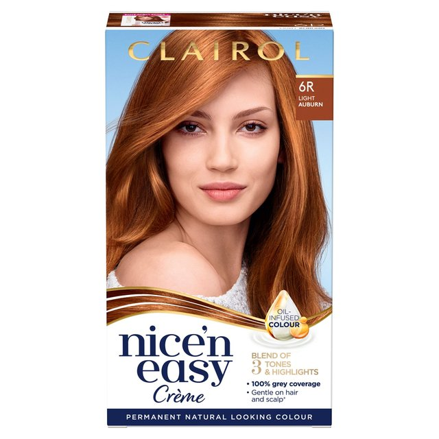 Morrisons: Nice \u002639;N Easy Permanent Colour 6R Natural Light